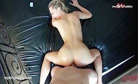 Amateur hot blonde public anal compilation
