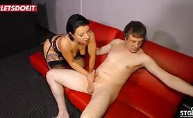 LETSDOEIT Hot German Milf Twerks Her Ass On Sex Tape With Amateur Lover