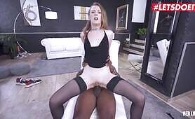 Her Limit Young Ukrainian Babe Gets Brutal BBC Anal Punishment LETSDOEIT
