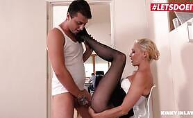 Kinky Inlaws - Step Mom Is Tricked Into Sex By Horny Step Son - LETSDOEIT