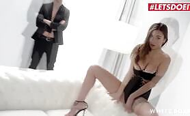 LETSDOEIT Super Hot Babe Liya Silver Has a Wet Surprise For Her Lover
