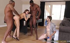 Riley Reid Does BBC Anal - Cuckold Sessions