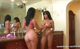 Jayden Jaymes Lesbian Strap-on Fuck