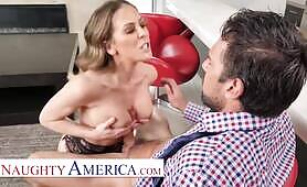 Naughty America - Cherie DeVille for delivery at Johnny's front door
