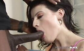 PrivateBlack - Horny Teen Annika Amour Gets Big Black Cock!