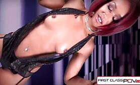FirstClassPOV - Watch sexy Skin Diamond sucking a big dick, big booty