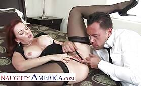 Naughty America - Janet Mason gets a Cream Pie consolation