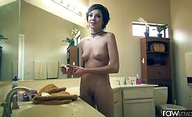 RawAttack Petite Cadey Mercury is fucked by a big hard dick, interview