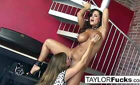 Busty Taylor Vixen Gets Naughty With MILF Lisa Ann!