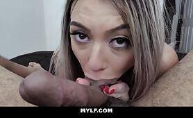 MYLF -I Cannot Resist Sucking Cock