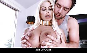 Bridgette B's Huge Tits Get Fucked and Cummed On!