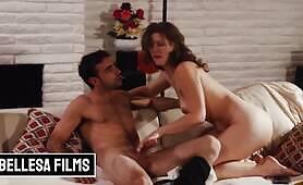 Bellesa Films All natural Ella Nova gets fucked in passionate sextape
