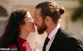 EroticaX - Hot Brunette Kylie Rocket Fucks Friend At BFF's Wedding