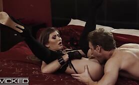 Paige Owens In Handcuffs Gets Fucked Hard And Fast Wicked