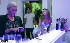 TUSHY Stunning Agatha won't be denied her anal desires