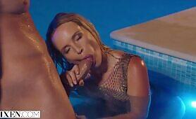 VIXEN Stunning Blonde Kaisa seduces her bestie's new man
