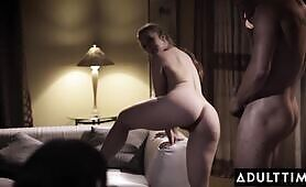 ADULT TIME Big Tit Lena Paul Fulfills Cheating Husband's Anal Desires While His Wife Watches